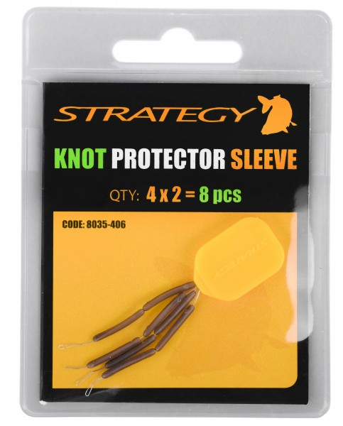 Strategy KNOT SHOCK LEADER PROTECTOR 8 Stück