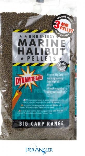 Dynamite Baits Marine Halibut Pellets 3mm 900gr